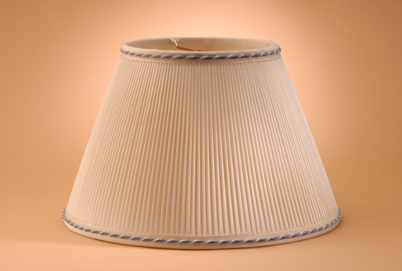 Cover A Pleated Lampshade With Fabric